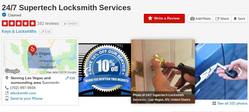 best locksmith in las vegas